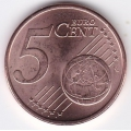 5 евроцентов. 2015 г. Литва. 11-4-345