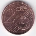 2 евроцента. 2015 г. Литва. 18-2-119