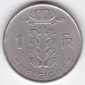 1 франк. 1952 г. Бельгия (на французском). 1-4-4А