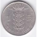 1 франк. 1973 г. Бельгия (на французском). 1-4-11А