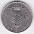 1 франк. 1976 г. Бельгия (на французском). 1-4-14А