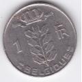 1 франк. 1977 г. Бельгия. (на французском). 1-4-15А