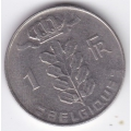 1 франк. 1978 г. Бельгия. (на французском). 1-4-16А