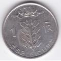 1 франк. 1980 г. Бельгия. (на французском). 1-4-17А