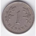 1 Марка. 1938 г. Финляндия. 1-4-165