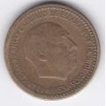 1 песета. 1953 г. Испания. 1-5-38