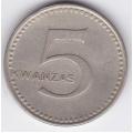 5 кванза. 1977 г. Ангола. 7-5-201