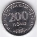 200 донгов. 2003 г. Вьетнам. 7-6-270