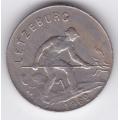 1 франк. 1962 г. Люксембург. 2-1-493