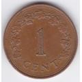1 цент. 1977 г. Мальта. 2-1-494