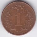 1 цент. 1989 г. Зимбабве. 2-2-334