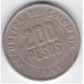 200 песо. 1996 г. Колумбия. 2-2-511