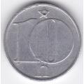10 геллеров. 1977 г. ЧССР. 2-3-85