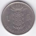 1 франк. 1958 г. Бельгия (на французском). 2-5-7А