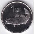 1 крона. 1999 г. Исландия. 16-5-357