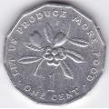 1 цент. 1987 г. Ямайка. 3-1-86