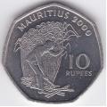 10 рупий. 2000 г. Маврикий. Уборка сахарного тростника. 3-2-257