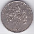 10 центов. 1972 г. Ямайка. 3-3-499