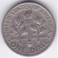"""1 дайм (10 центов). 2000 г. """"P"""". США. 3-4-635"""