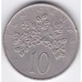 10 центов. 1987 г. Ямайка. 10-1-288