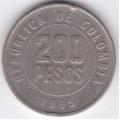 200 песо. 1995 г. Колумбия. 10-1-364