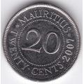 20 центов. 2007 г. Маврикий. 10-1-486