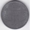 1 франк. 1943 г. Бельгия (фламандско-французская). 10-2-29