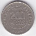 200 песо. 1995 г. Колумбия. 10-2-238