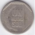 1 новый соль. 2002 г. Перу. 10-2-241