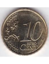 10 евроцентов. 2014 г. Латвия. 10-3-621