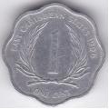 1 цент. 1996 г. Карибские острова. 10-4-88