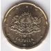 20 евроцентов. 2014 г. Латвия. 10-4-535