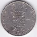1 крона. 1973 г. Швеция. 5-1-376