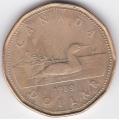 1 доллар. 1989 г. Канада. 11-2-226