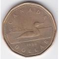 1 доллар. 1988 г. Канада. 11-2-227