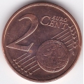 2 евроцента. 2012 г. Эстония. 16-1-628