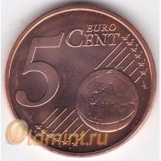 5 евроцентов. 2014 г. Латвия. 16-1-630
