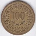 100 миллимов. 1983 г. Тунис. 6-1-280