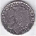 1 крона. 1999 г. Швеция. Карл XVI. 6-1-433