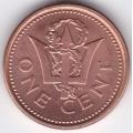 1 цент. 2005 г. Барбадос. 6-3-166