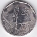 25 сентаво. 2000 г. Куба. Тринидад. 6-4-136