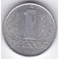 """1 пфенниг. 1960 г. ГДР. """"A"""". 6-5-597"""