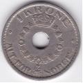 1 крона. 1949 г. Норвегия. 15-4-15