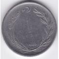 1 лира. 1960 г. Турция. 15-5-291
