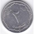 2 сентима. 1964 г. Алжир. 15-5-353