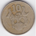 10 центов. 1983 г. Кипр. 15-6-61