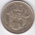 10 центов. 1994 г. Кипр. 15-6-67