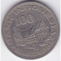 100 рупий. 1978 г. Индонезия. Древо жизни. 15-6-159