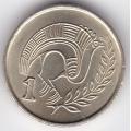 1 цент. 1996 г. Кипр. Стилизованная птица. 12-1-44