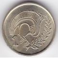 1 цент. 1998 г. Кипр. Стилизованная птица. 12-1-45